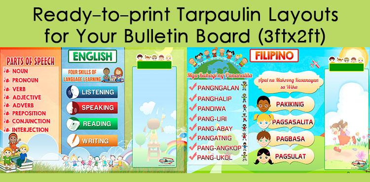 Tarpaulin Layouts for Bulletin Board