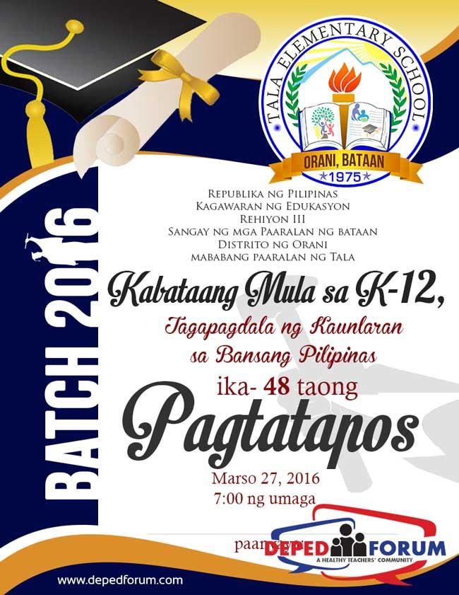 Graduation Programme Design