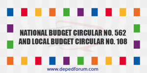 National Budget Circular No. 562