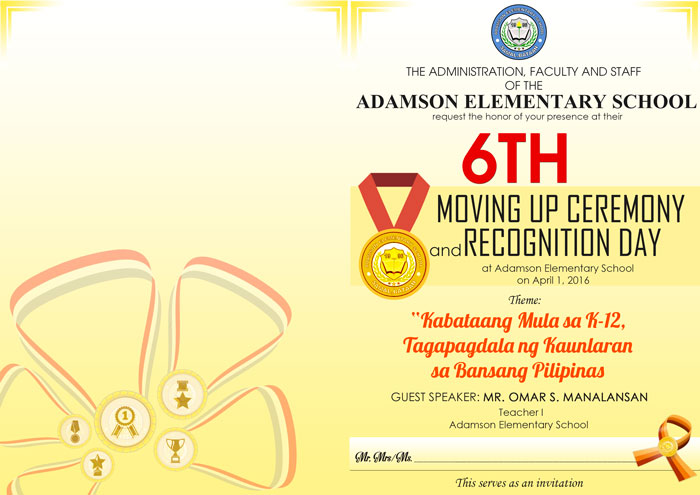 Recognition Programme Design