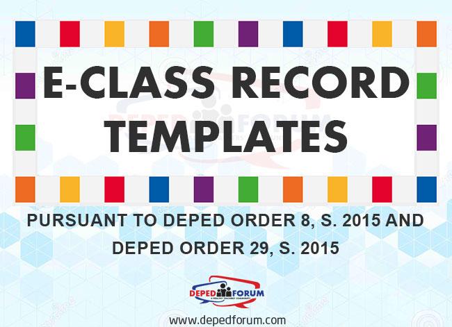 E-Class Record Templates