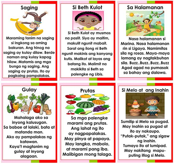 14 Printable Short Stories In Filipino Deped. Short Stories In Filipino. Printable. Kids Short Stories Printable At Clickcart.co