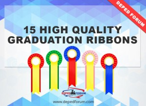 Graduation ribbons