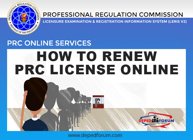 How to Renew PRC License Online