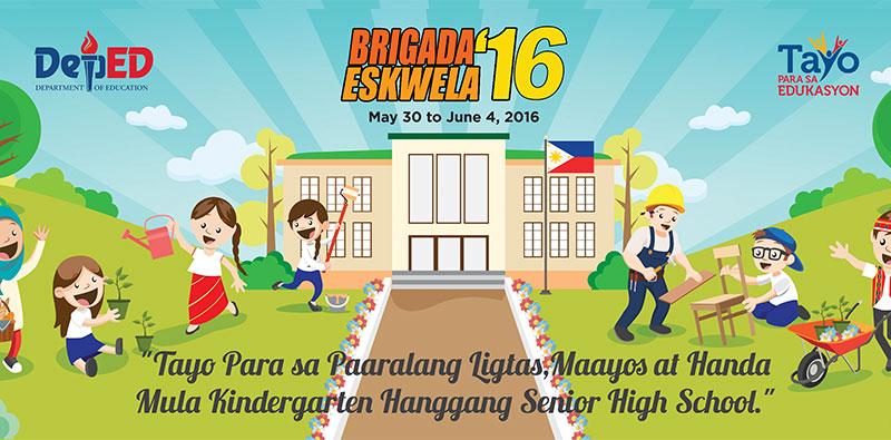 Brigada Eskwela 2016