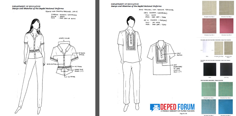 DepEd National Uniforms