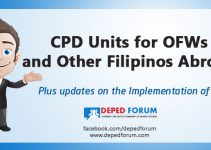 CPD Units for OFWs and Other Filipinos Abroad