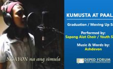 Kumusta at Paalam Graduation Song by Sapang Alat Choir