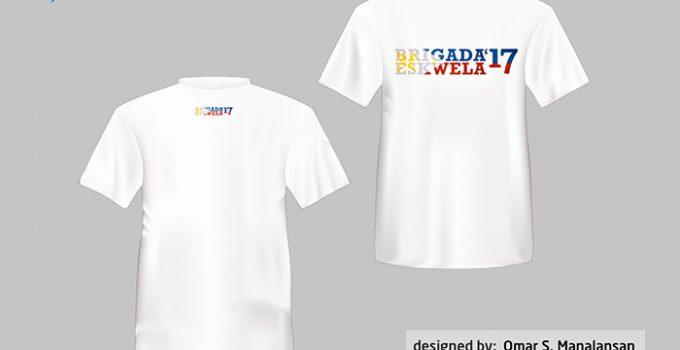 Brigada Eskwela 2017 t-shirt design